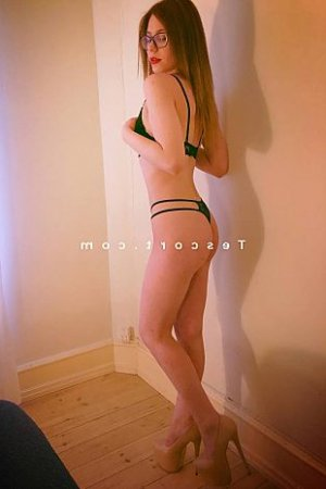 Shannah massage naturiste escorte